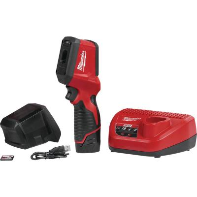 M12 12-Volt Lithium-Ion Cordless 102 x 77 Infrared Camera