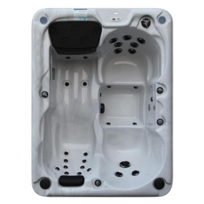 Quebec Plug and Play 3-4 Person 29-Jet Spa with LED Lighting and Speakers Product Photo