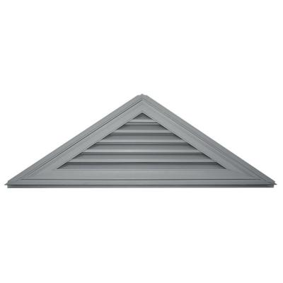 Builders Edge 8/12 Triangle Gable Vent #030 Paintable