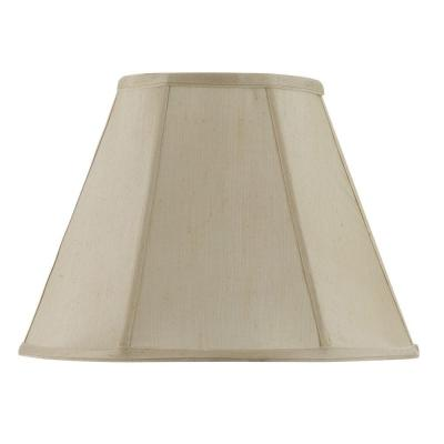 20 in. Cream Vertical Piped Basic Empire Shade