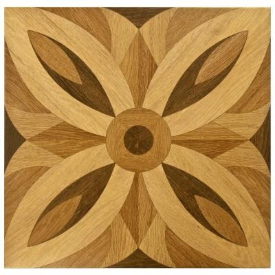 Florence Matte Brown 17 in. x 17 in. Ceramic Floor and Wall Tile (12.21 sq. ft. / case) Product Photo