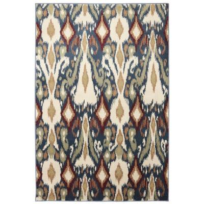 Mohawk Home Eastman Orin Blue 3 ft. 6 in. x 5 ft. 6 in. Area Rug