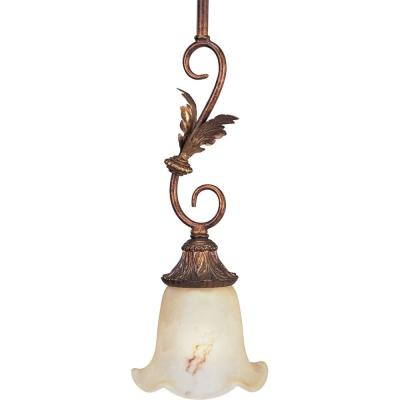 Progress Lighting Elysian Collection Golden Brandy 1-light Mini-Pendant-DISCONTINUED