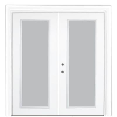 72 in. x 80 in. Steel Patio Door with Clear Low-E Product Photo