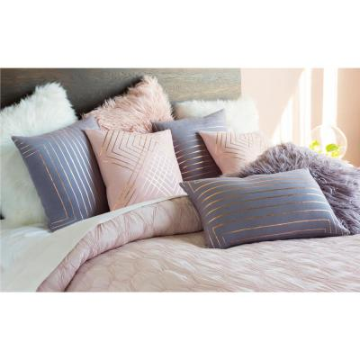 Eversholt Geometric Polyester Throw Pillow