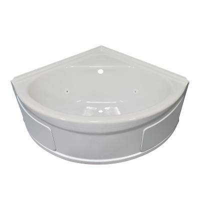lyons industries sea wave 4 ft whirlpool tub with center