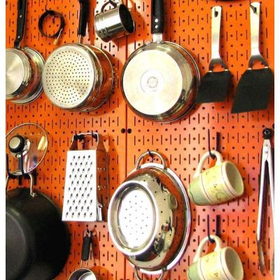 2 Metal Pegboard Panel Wall Storage Magnetic Mount Garage Display Hardware Tool Ebay