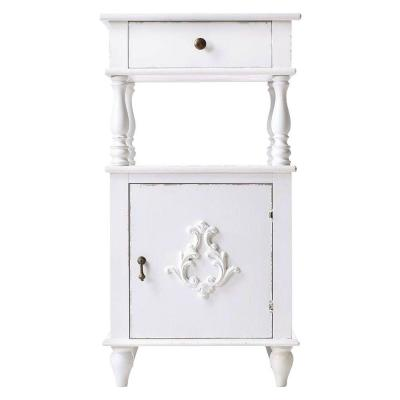 Home Decorators Collection Nanda 1-Drawer Nightstand in Gustaviano Wash