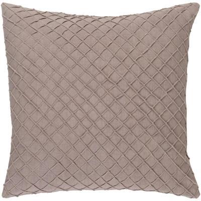 Gorleston Solid Polyester Throw Pillow