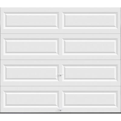 Value Series 16 ft. x 7 ft. Non-Insulated Solid White Garage Door Product Photo