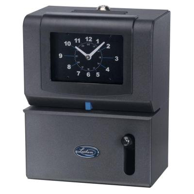 Lathem State Of Art Employee Time Stamp With Analog