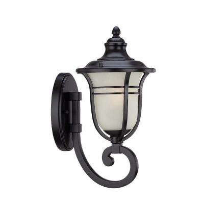 Acclaim Lighting Montclair Collection 1-Light Matte Black Outdoor Wall Mount Light