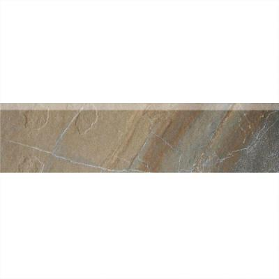 Ayers Rock Rustic Remnant 3 in. x 13 in. Glazed Porcelain