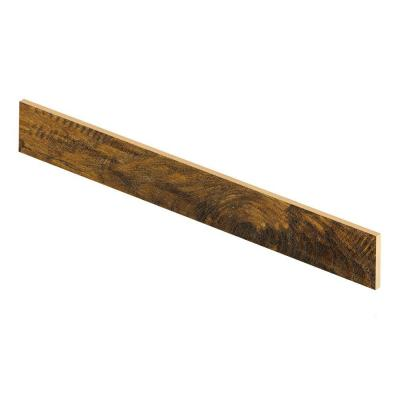 Light Hickory 47 in. Length x 1/2 in. Depth x 7-3/8 in. Height Laminate Riser to be Used with Cap A Tread Product Photo