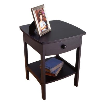 Winsome Claire Accent Table Black Finish