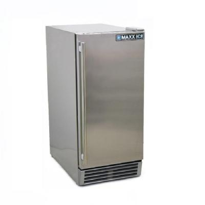 Maxx Ice 3 cu. ft. Mini Outdoor Refrigerator in Stainless Steel