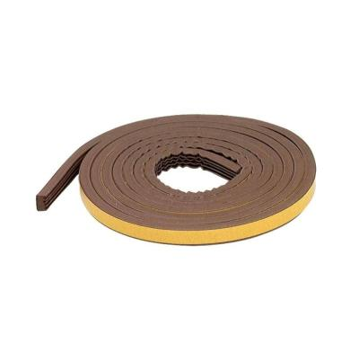 MD Building Products Premium 5/16 in. x 17 ft. Brown Weatherstrip Tape for Large Gaps (10-Year)