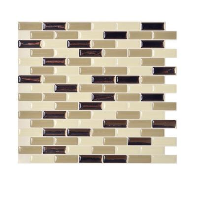tiles in x in peel and stick mosaic decorative wall tile