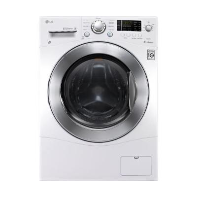 LG Electronics 2.3 cu. ft. Washer and Electric Ventless Dryer in White