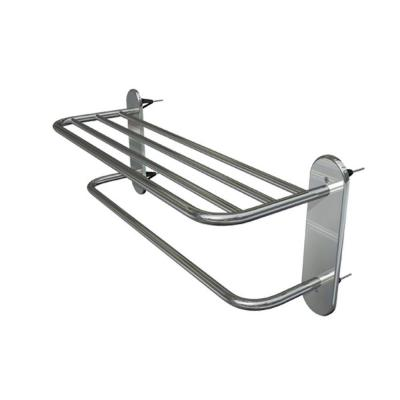 WingIts Master Series 18 in. Towel Rack with 4 Master Anchors in Satin Stainless Steel