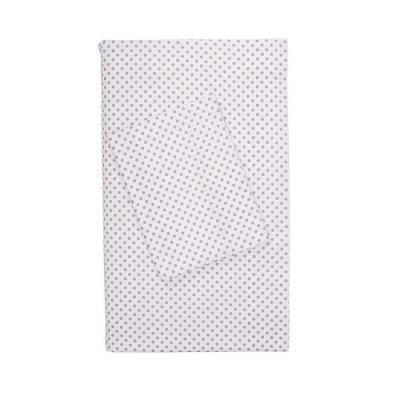 Swiss Dot 200-Thread Count Cotton Percale Flat Sheet