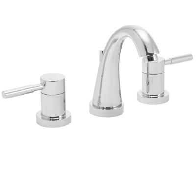 Neo 8 in. Widespread 2-Handle Bathroom Faucet in Polished Chrome