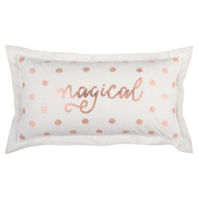 Christmas Magical Geometric Polyester Throw Pillow