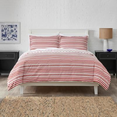 Malcom 3-Piece Duvet Cover Set