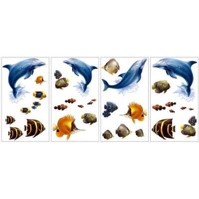 10 in. x 18 in. Under the Sea 24-Piece Peel and