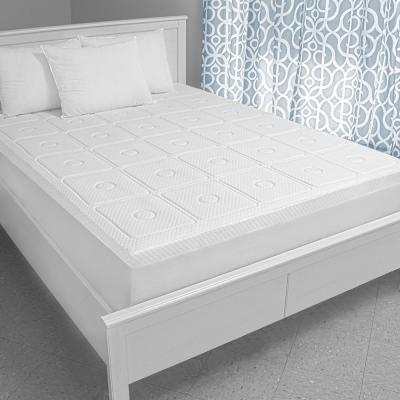 Extreme Luxury 3 in. Memory Foam Mattress Topper
