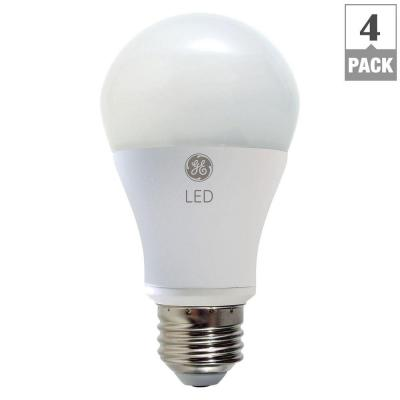 100W Equivalent Soft White A19 Dimmable LED Light Bulb (4-Pack)