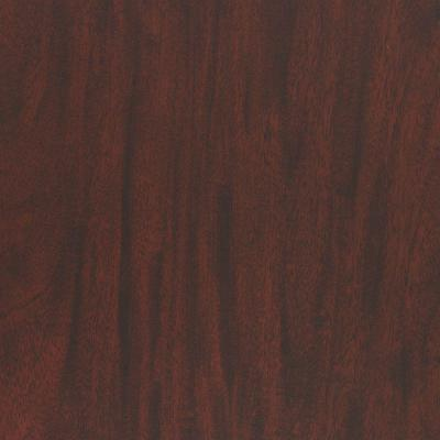 3 in. x 5 in. Laminate Sample in Figured Mahogany with FineGrain Product Photo