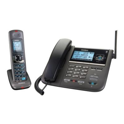 Uniden 2 Line Corded and Cordless Phone with Digital Answering System DECT4096