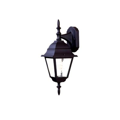 Acclaim Lighting Builder's Choice Collection 1-Light Matte Black Outdoor Wall-Mount Fixture