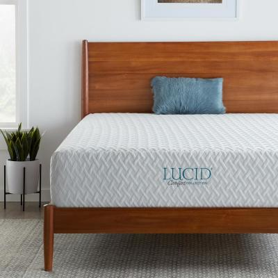 12 in. Plush SureCool™ Memory Foam Mattress with Gel Infusions