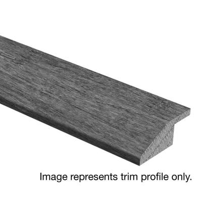 Scraped Tranquil Fog Maple 3/8 in. Thick x 1-3/4 in. Wide x 94 in. Length Hardwood Multi-Purpose Reducer Molding Product Photo