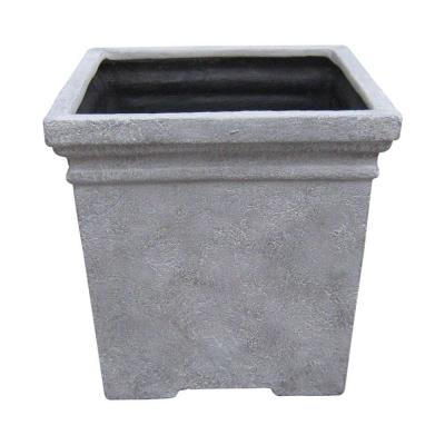 null 16 in.Verbena Square Planter-DISCONTINUED