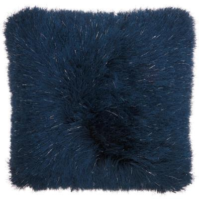Shag Plush Yarn Shimmer Shag Throw Pillow