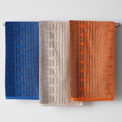 Diamond Edge Cotton Fingertip Towel (Set of 2)