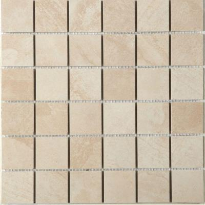 MARAZZI Terra Topaz Ice 12 in. x 12 in. x 8 mm Porcelain Mesh-Mounted Mosaic Tile