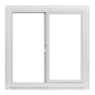 Utility Sliding Vinyl Window – Single Glass