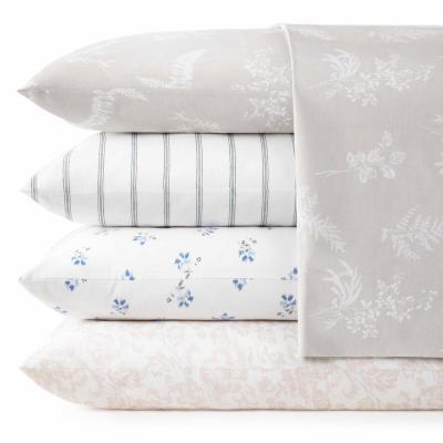 Mae Floral 200-Thread Count Cotton Sheet Set