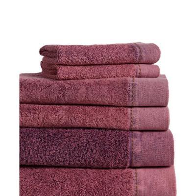 Mo 6-Piece 100% Cotton Bath Towel Set