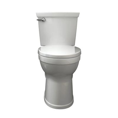 American Standard Champion 4 Max 2-piece 1.28 GPF Single Flush High Efficiency Round Front Toilet in White