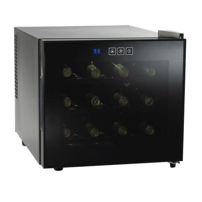 Wine Enthusiast 12 Bottle Silent Touchscreen Wine Cooler