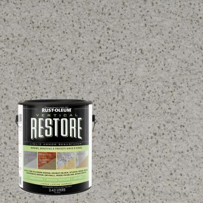 1-gal. Graywash Vertical Liquid Armor Resurfacer for Walls and Siding