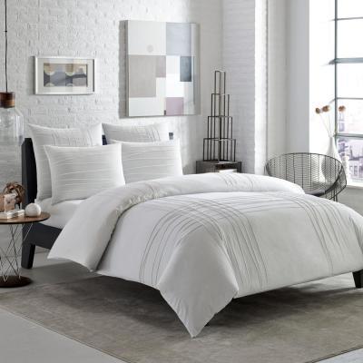 Variegated Pleats Cotton Comforter Set