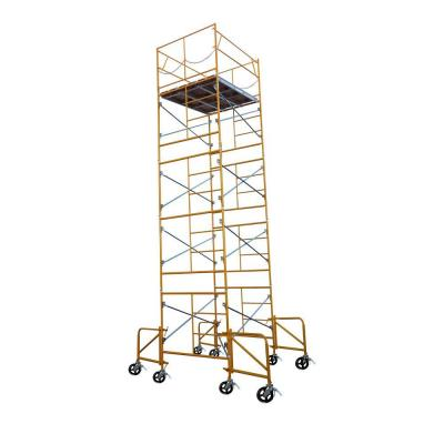 Fortress 21 ft. x 7 ft. x 5 ft. Rolling Scaffold Tower 2000 lb. Load Capacity