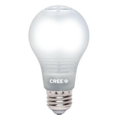 cree 60w equivalent daylight 5000k a19 dimmable led. Black Bedroom Furniture Sets. Home Design Ideas