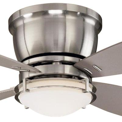 Parker Ridge 44 in. Brushed Nickel Ceiling Fan